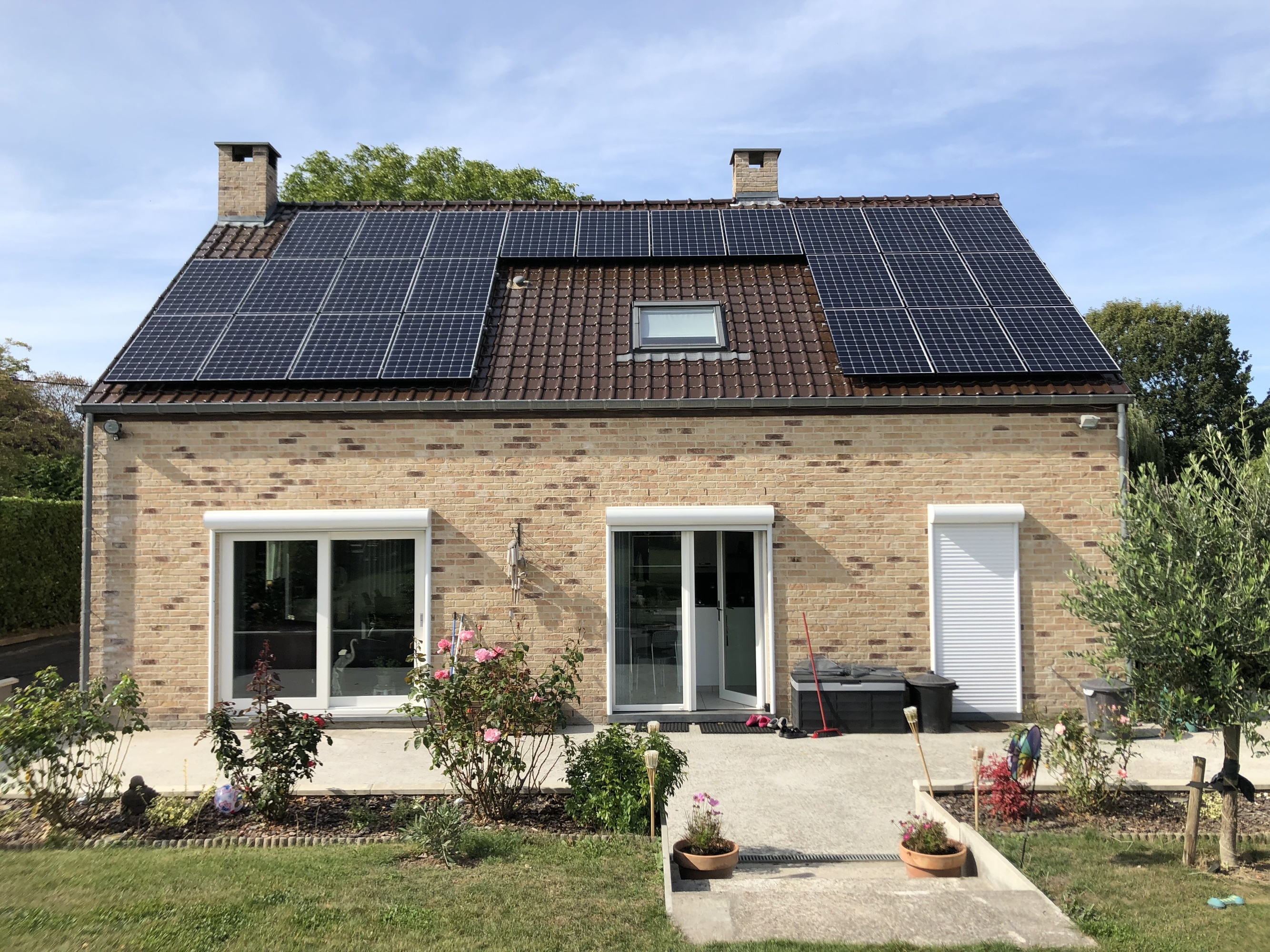 Installation résidentielle SUNPOWER